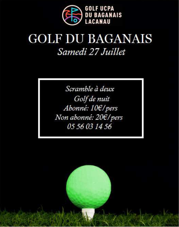 Compétition Golf Baganais